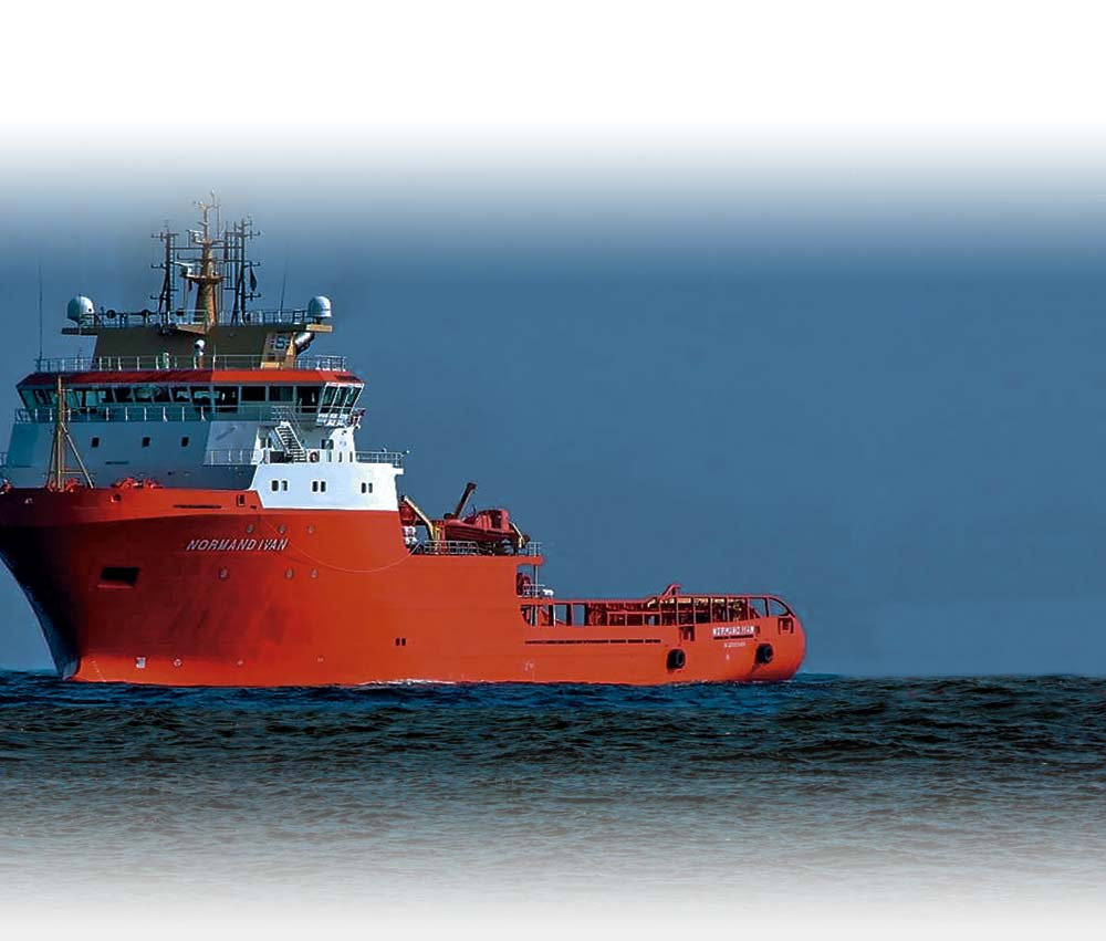 Chartering & Management of Offshore Support Vessels